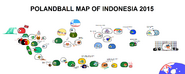 Polandball Map of Indonesia 2015