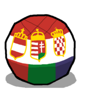 Austria-Hungary-Croatiaball