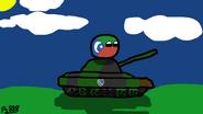 Bosnian Empire on Tank by PS888