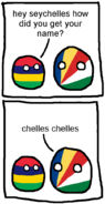 How Seychelles gets its name
