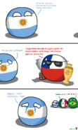 Argentin Chile México Brasil Uruguay CA2016