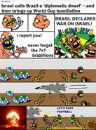 Brazil Declares War on Israel!