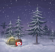Winter camping times by Dr--Bright