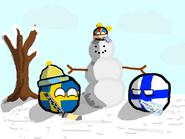 Swedenball Alandball Finlandball