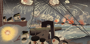 Battle of the Yellow Sea by Kobayashi Kiyochika by Diictodom