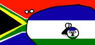 Lesotho - Countryball & Flag