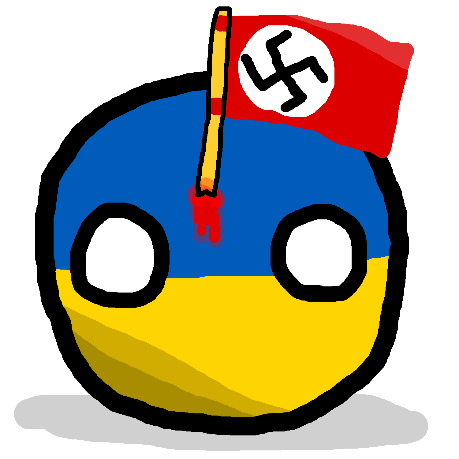 Nazi Ukraineball