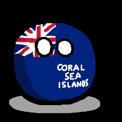 Coral Sea Islandsball