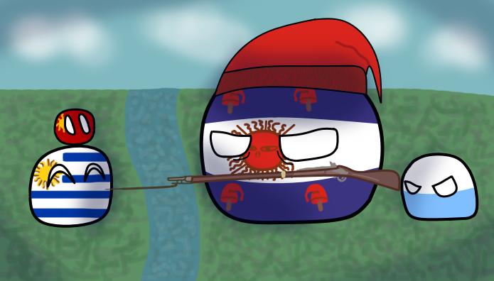 Argentine intervention on Uruguay