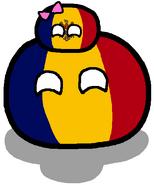Romêniaball & Moldáviaball
