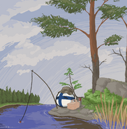 A summer fishing by glowner