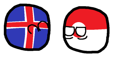 Grenland and icelanc