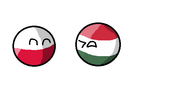 Polandball i Hungaryball