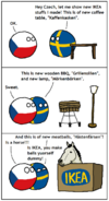 Ikea can into meatballs (version 1)