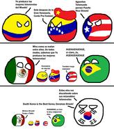 Mexico - Brasil - Colombia - Venezuela - Puerto Rico - Corea del sur