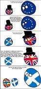 Orkney and Shetland leaving Scotland leaving Great Britain leaving the EU