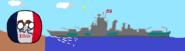 Iowa and his battleship.