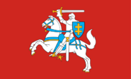 Flag of grand duchy of lithuania