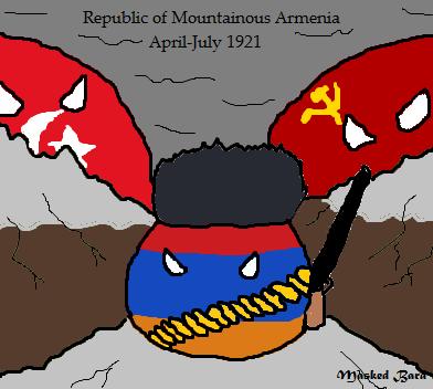 Republic of Mountainous Armeniaball