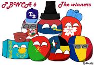 Pbwca 6 winners