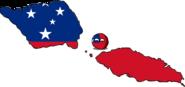 Samoaball (Countryball & Flag)