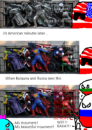 USA Invation of Bulgaria in a nutshell