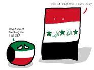 16. Iraq vs Kuwait