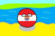 Polinesia Francesaball Con Fondo