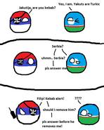 Serbia and Yakutia