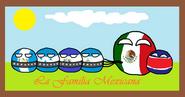 Família do México