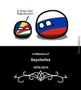 Seychelles meets Russia