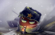Sovietball in da winter by littlefish101