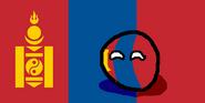 MongoliaBall (Countryball & Flag)
