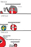 Evolution of Denmark