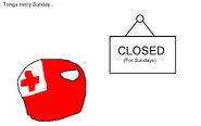 Tonga's Closed