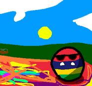 Mauritiusball *Sand Dunes* (By Xavier Animations