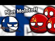 Njet Molotoff! - Winter War Countryballs Music Video
