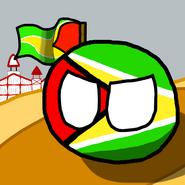 Guyanaballwithflaggy