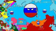 History of Russia (1900-2019) Countryballs