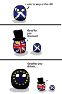 Scotland votes no for Independence