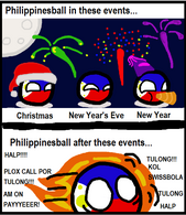 Holiday Cause and Effect- Philippineball