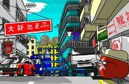 Hong Kong the bustling city