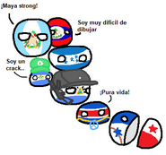 Mapa de centroamerica version polandball