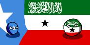 Somalilandball & SomaliaBall (Countryball & Flag)