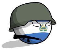 El Salvadorball-Soldier
