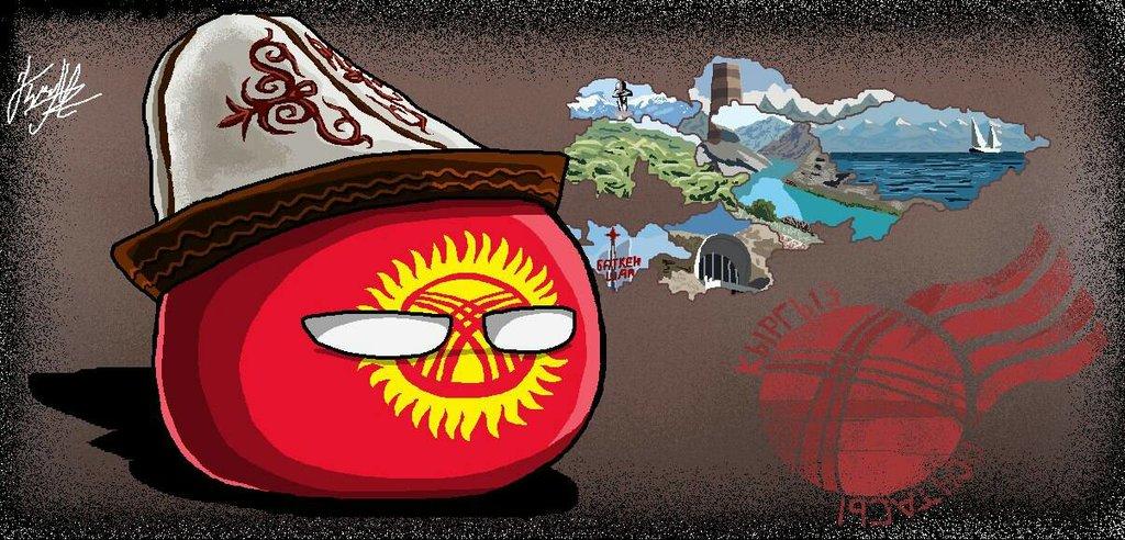 Kyrgyzstanball