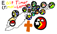 East Timor District Map