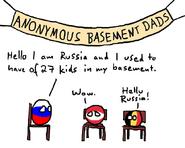 Anonymous basement dads (Polandball)
