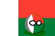 MadagascarBall (CountryBall & Flag)