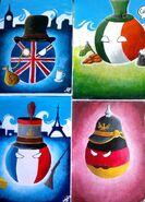 UK, Ireland, France and Germany